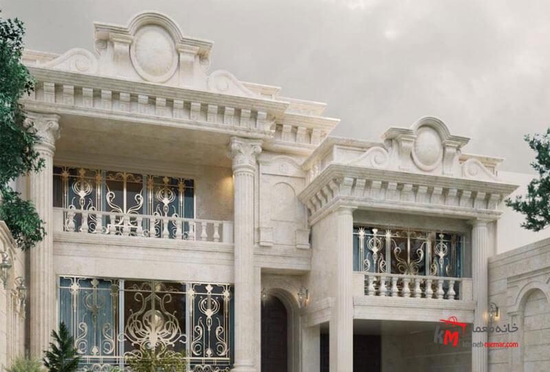 نمای کلاسیک در نمای ساختمان