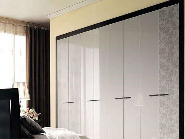 کمدهای گلاسه شیک و جذاب برای فضاهای کوچک کمد های دیواری گلاس