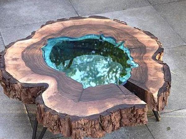 ترکیب چوب و رزین