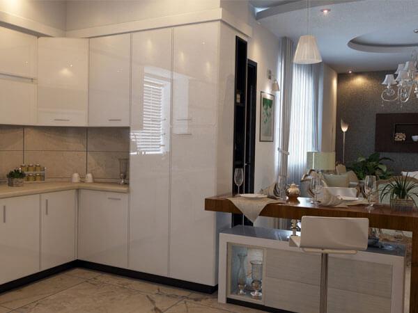طراحی بی نظیر آشپزخانه