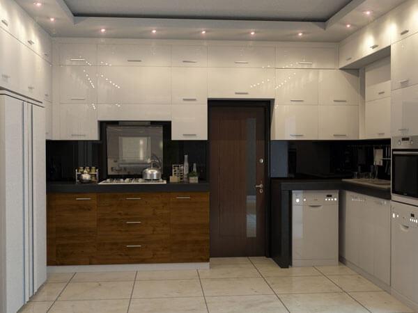 نورپزردازی در آشپزخانه