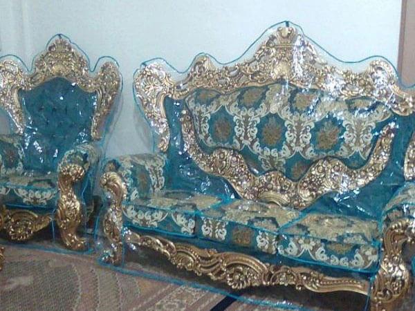روکش ژلاتینی برای مبل سلطنتی