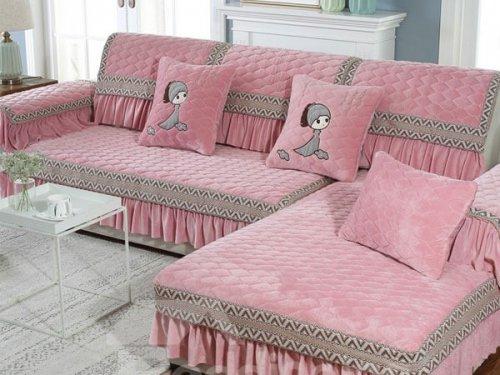 کاور مبل دامن دار sofa cover
