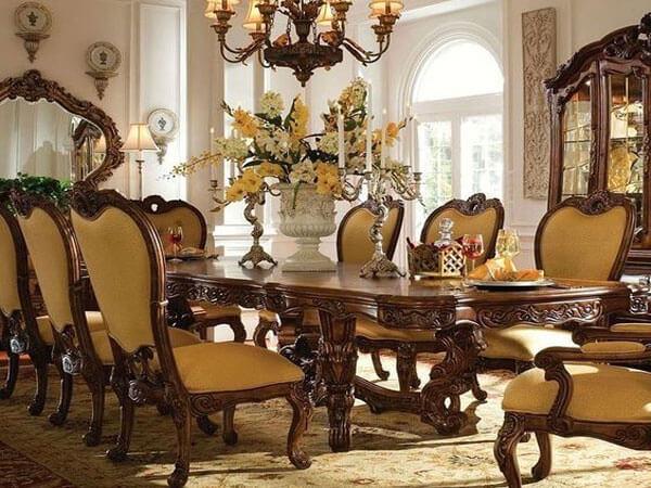 سبک کلاسیک در دیزاین آشپزخانه