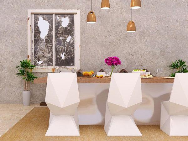 طراحی مدرن فضای ناهار خوری
