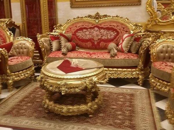 مبلمان فوق لاکچری ترکیب مبل سلطنتی، لزوم هارمونی در محیط