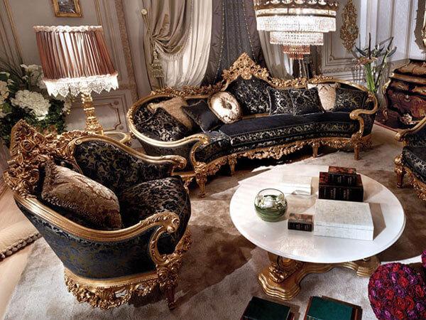 هارمونی و تناسب مبلمان با وسایل ترکیب مبل سلطنتی، لزوم هارمونی در محیط