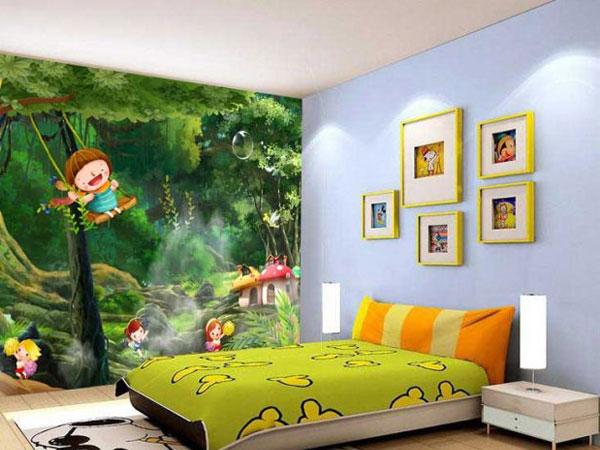 طراحی اتاق کودک با پوستر دیواری
