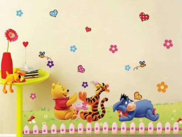 طرح پوستر برای اتاق کودک