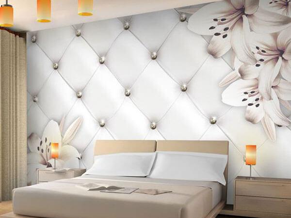 دکوراسیون اتاق خواب با استفاده از کاغذ