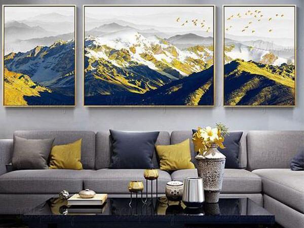 توجه به ترکیب رنگهای مختلف در تابلوهای فانتزی مدرن