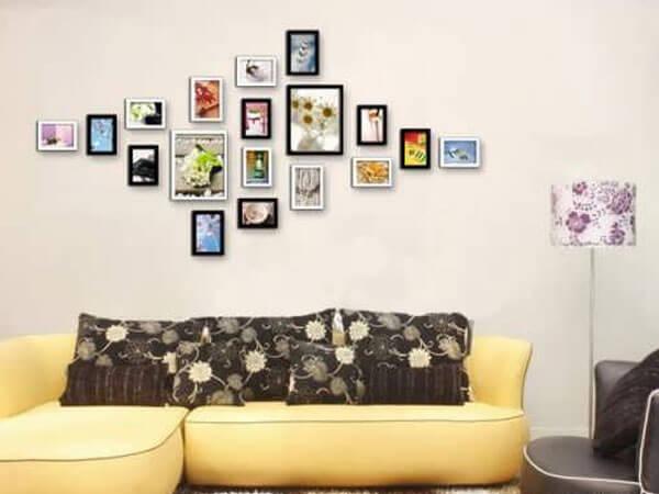 نصب خلاقانه تابلوهای کوچک