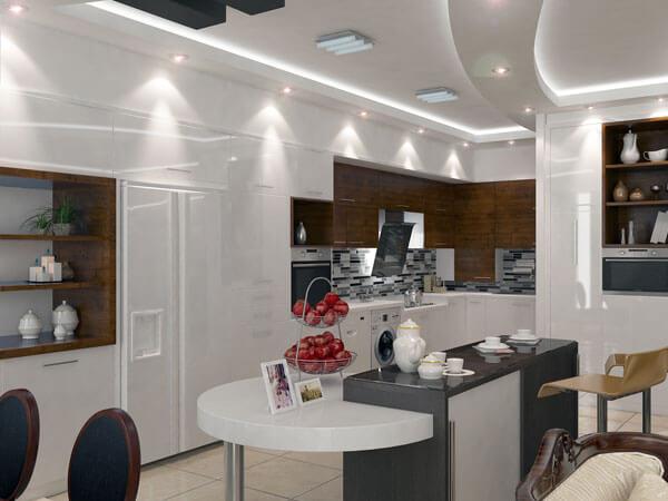 نور مناسب در دکوراسیون آشپزخانه