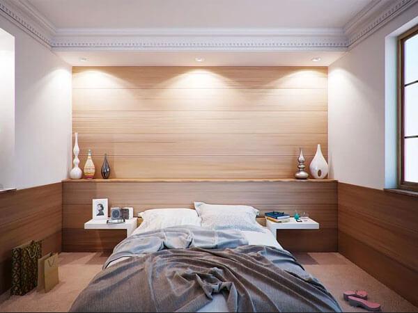 نور پردازی در دیوار اتاق 2)طراحی دیوار با نورپردازی