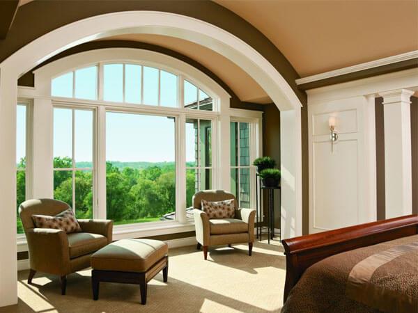پنجره سرتاسری پذیرایی