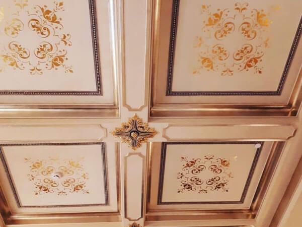 طرح های پتینه کاری در سقف