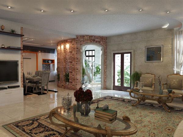دکوراسیون داخلی منزل و انواع سبک های طراحی