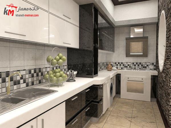 آشپزخانه گرم فضایی برای پخت و پز و سرخ کردن