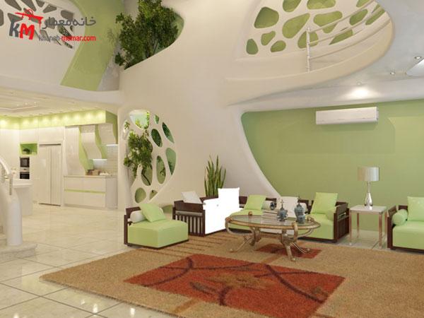 دکوراسیون داخلی با طراحی سبز