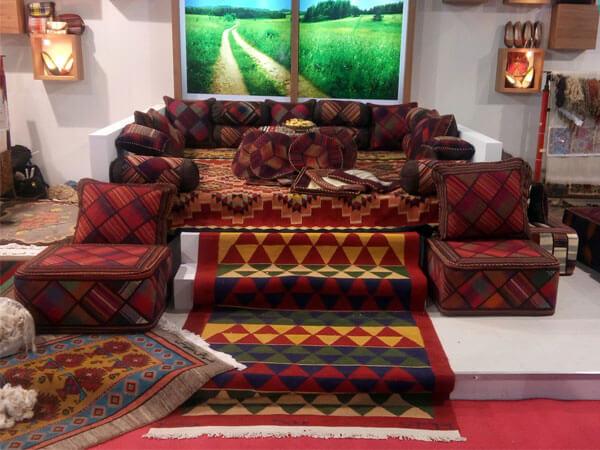 صنایع دستی در دکور ایرانی