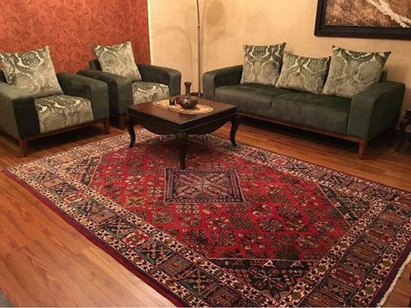 فرش در دکور ایرانی