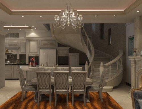 انواع پله و مدل های با شکوه و بی نظیر طراحی پله های سال 2020