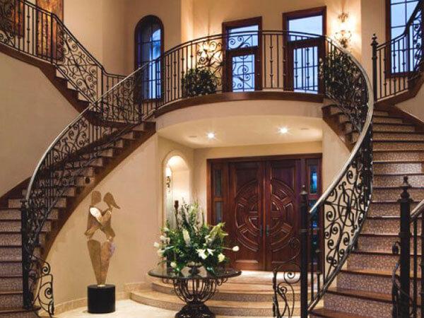 انواع پله در ساختمان دوبلکس