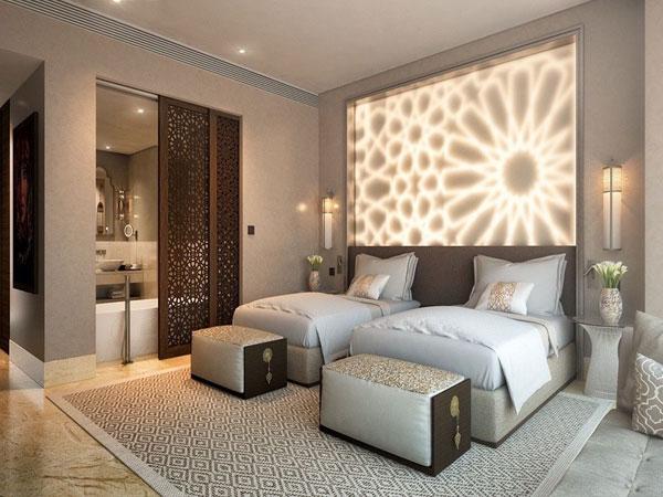 اتاق خواب مستر زیبای طراحی شده