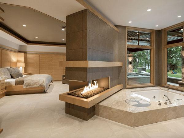 سرویس بهداشتی و حمام اتاق خواب مستر