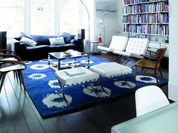 استفاده از رنگ آبی در دکوراسیون خلق دکوراسیون آبی با رنگ دیوارها