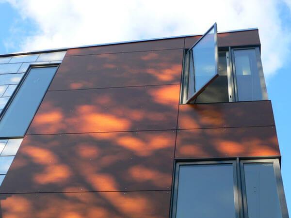 نما ساختمان با مصالح نوین معایب نمای کامپوزیت