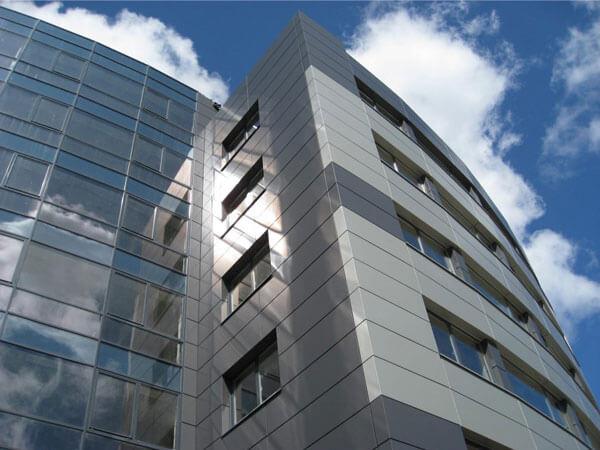 نمای کامپوزیت، گزینه ای ایده آل برای استفاده در پوشش نما طراح نما برای ساختمان مدرن