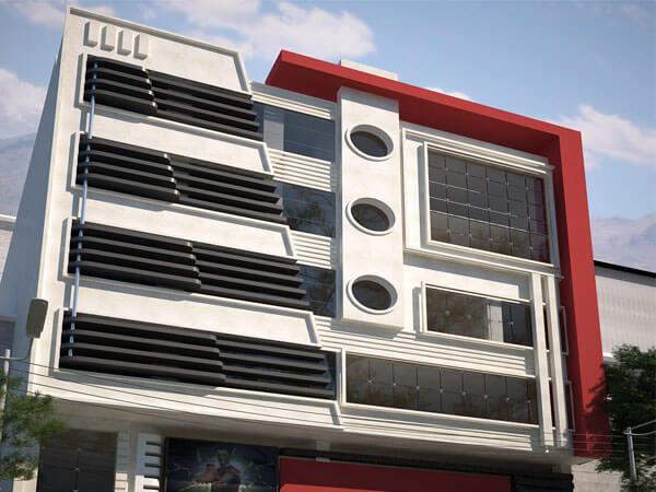 نما مدرن ساختمان مسکونی معایب نمای کامپوزیت
