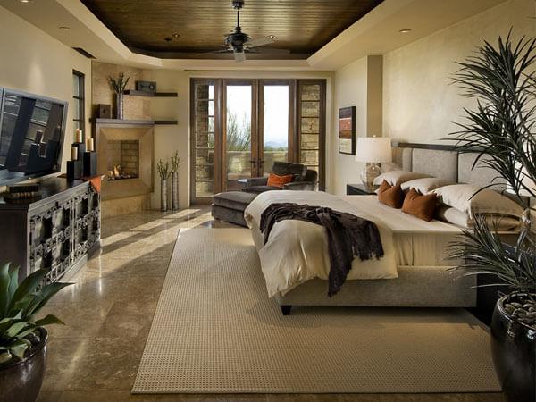 دکوراسیون اتاق خواب مستر بخش های مختلف اتاق خواب مستر