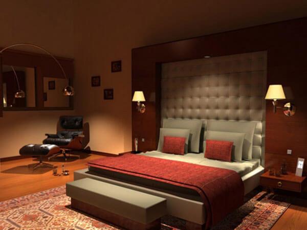 دکور خواب والدین نمونه هایی از اتاق خواب مستر