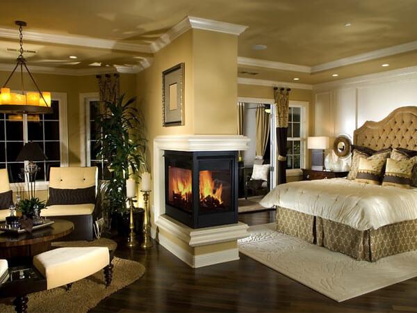 نمونه هایی از اتاق خواب مستر طراحی دکور خواب مستر