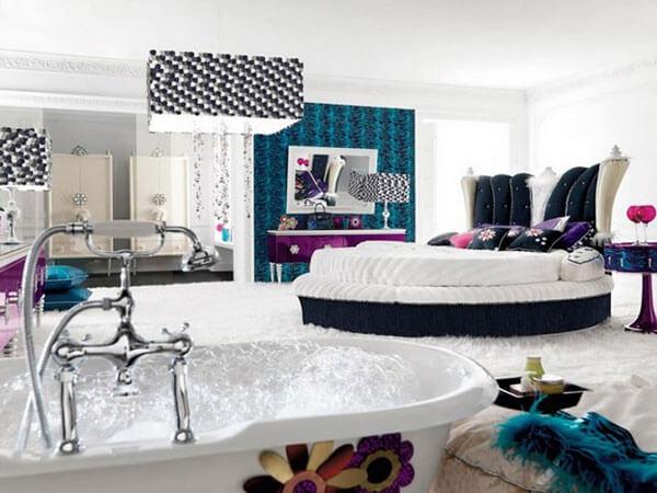 دکوراسیون اتاق خواب بخش های مختلف اتاق خواب مستر