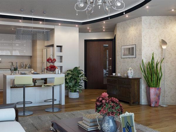 اپن آشپزخانه و زیبایی آن در دکوراسیون