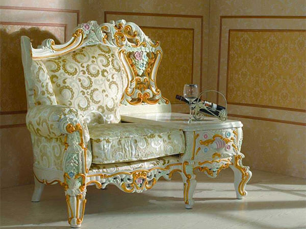 میز تلفن سلطنتی شیک و زیبا