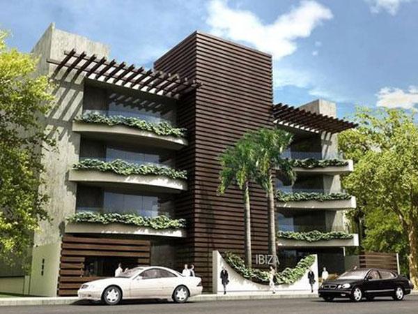 نمای ساختمان به سبک مدرن نمای ترموود و تاثیر آن بر سلامتی روانی