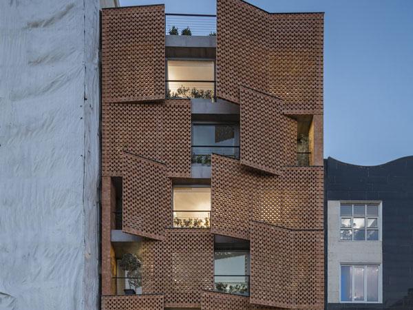 نمای مدرن ساختمان نمای ترموود و تاثیر آن بر سلامتی روانی