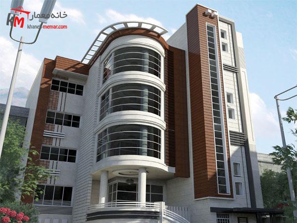 نمای ساختمان مدرن شیک مزایای نمای ترموود