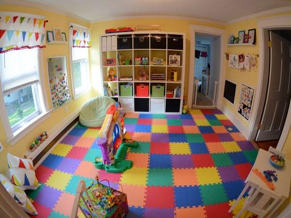 ایمنی برای اتاق بازی کودکان