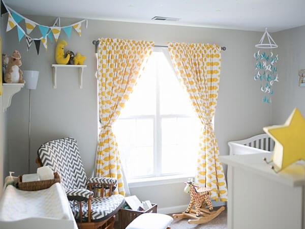 پرده زیبا برای اتاق کودک