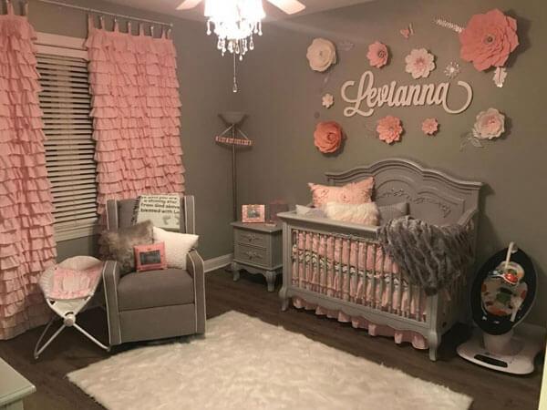 پرده اتاق خواب کودک با تزیینات داخلی
