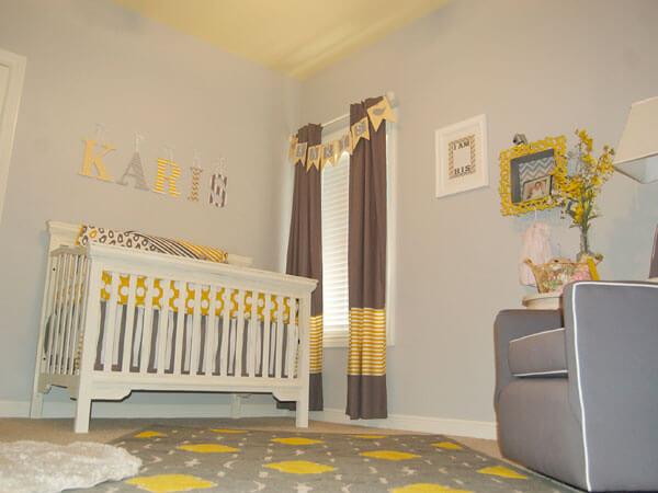 پرده های اسپرت برای اتاق خواب کودک