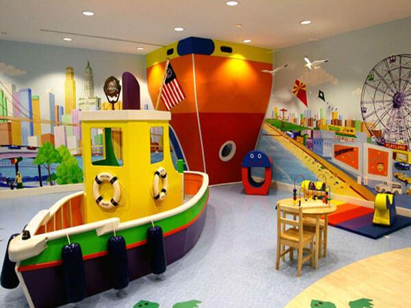 فضای بازی کودکان با طراحی خلاقانه از وسایل آموزشی استفاده کنید