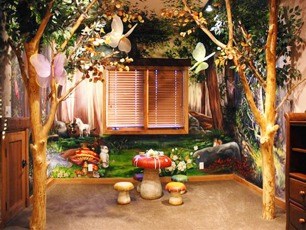 فضای زیبا و خلاقانه اتاق کودک از وسایل آموزشی استفاده کنید
