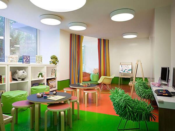 طراحی اتاق برای بازی کودکان استفاده از یک تم مشخص