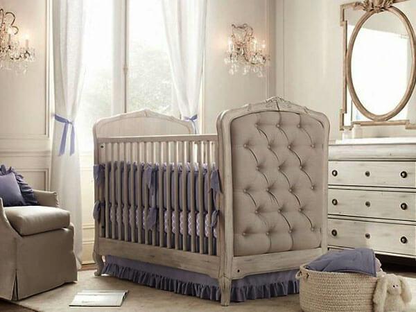 گهواره اتاق نوزاد چند نکته مهم دکوراسیون اتاق نوزاد